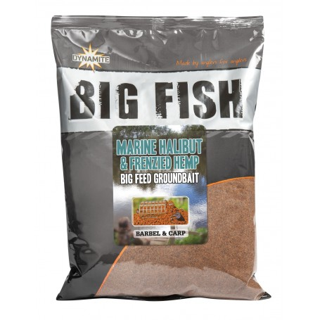 DYNAMITE BAITS PASTURA BIG FISH HALIBUT MARINO & HEMP 1.8 KG