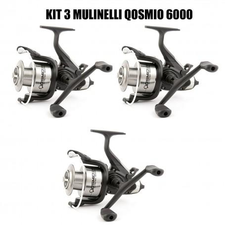 TRABUCCO KIT 3 MULINELLI QOSMIO CRS 6000